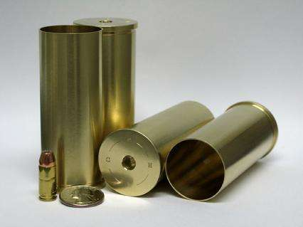 S&H 2-Bore Cartridge Cases